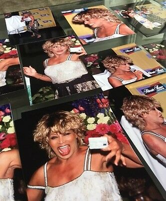 Tina Turner & Jane Seymour Discover Card - Private issue - Lot of 18 Photos
