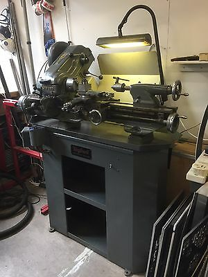 Myford Super 7B lathe Quick-change gearbox and Power cross-feed Single phase