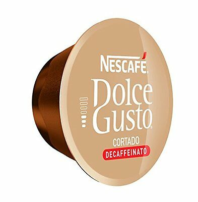 Box Of Nescafe Dolce Gusto Cortado Decaf Decaffeinated Coffee Pods