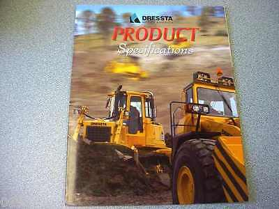 Dressta Product Specifications Brochure