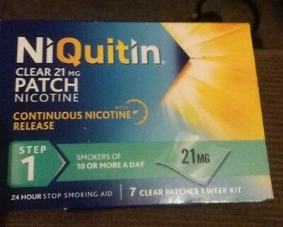 NiQuitin Clear 21mg Step 1 - 7 Patches