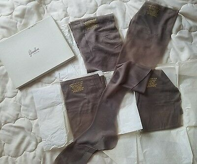 4 pairs NYLON business Sheer Stockings PARKLANE nos Yonkers comfort sole