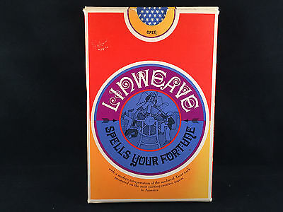 """The Linweave Tarot Pack """"Spells Your Fortune"""" Vintage 1967 Brown Company Sampler"""