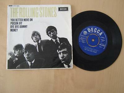 The Rolling Stones  / The Rolling Stones  1964  EP Mono