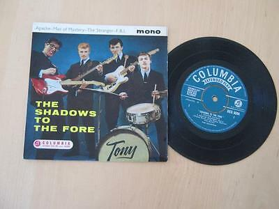 The Shadows / To The Fore / 1961  EP Mono