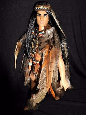 Spirit of the Eagle ~ KEN Native American Indian Barbie doll ooak tribe