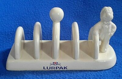 Limited Edition Cream Ceramic Douglas LURPAK Toast Rack **MINT**