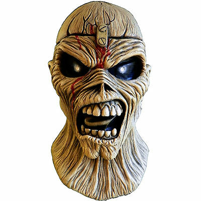 IRON MAIDEN Eddie Piece Of Mind Latex Mask NECA