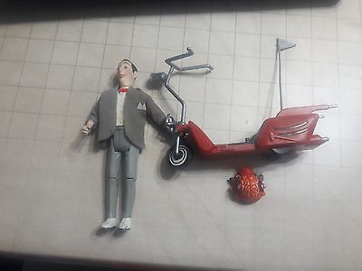 PeeWee Herman with Scooter