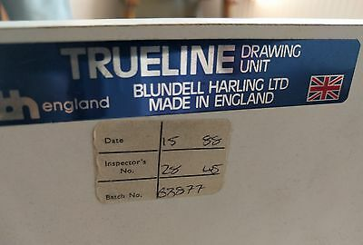 Blundell Harling Trueline A2 Drawing Board With Parallel Motion