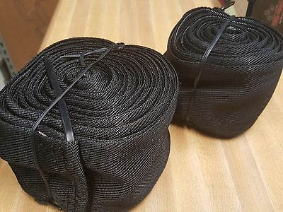 """TIG Torch - Cable Cover, 10'x3"""" abrasion resistant nylon, zippered"""