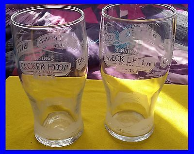 ~~2X Jennings Pint Beer Glasses