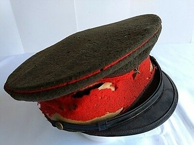 WWII Japanese Military Imperial Soldier's Hat Cap Battle Army Uniform -J-
