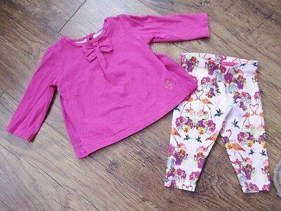 Ted Baker Baby Girls Outfit Top & Leggings Age 3-6 Months