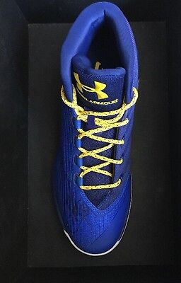 REDUCEDStephen Curry 3 Signed Under Armour Shoe -Golden State Warriors NBA-Rare!