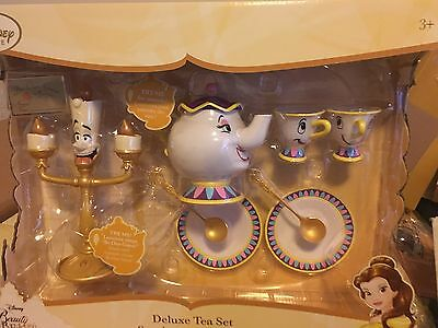 Beauty and the Beast Singing Tea Set- From Disney Store