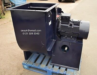 Large Industrial Fan  Airco Centrifugal Blower Spray Booth Extractor Brook 22kW