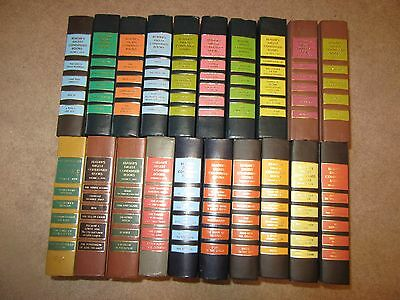 Lot of 20 Readers Digest Condensed Books Patterned Decorative Covers all 1970's