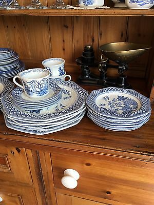 J&G Meakin Royal Staffordshire Blue And White China