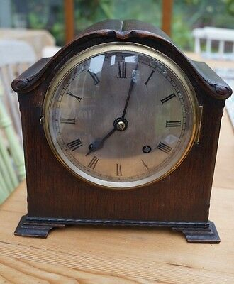 EMPIRE MANTEL CLOCK with time strike