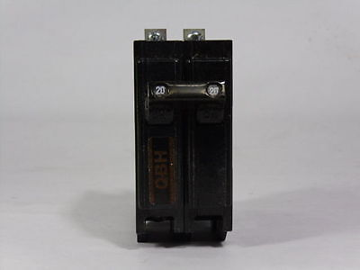 QBH220 commander sylvania 2 pole 20 amp Bolt-On Replacement Breaker - 2P 20A