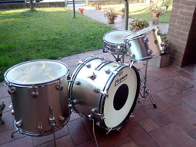 HAYMAN VIBRASONIC OUTFIT SILVER 1968 VINTAGE drum set batteria all original !!!!