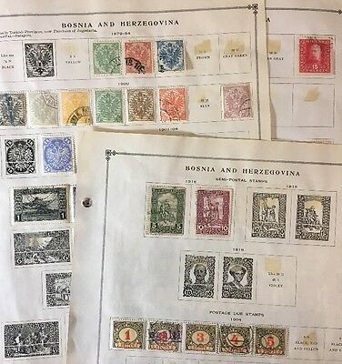 Bosnia & Herzegovina Stamps Lot (see all pics) $$$$