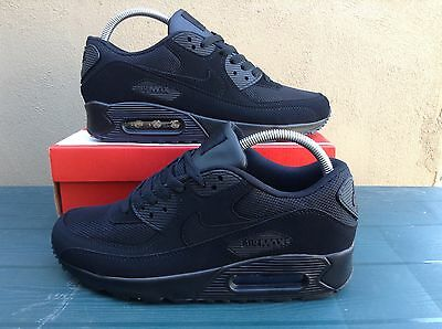 Nike Air Max 90 Black Suede Trainers /  All Sizes ***brand New In Box***