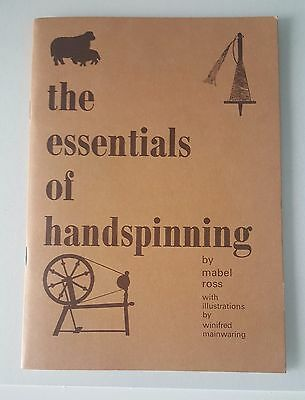 The Essentials Of Handspinning By Mabel Ross