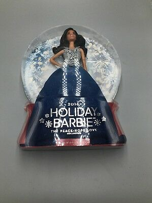 Barbie 2016 Holiday Doll 06