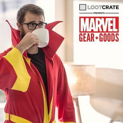 Loot Crate Marvel Gear & Goods Doctor Strange Cloak Dr Strange Bathrobe L/XL NEW
