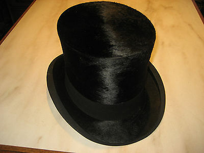 Vintage SILK TOP HAT by Kirsop & Son, Glasgow