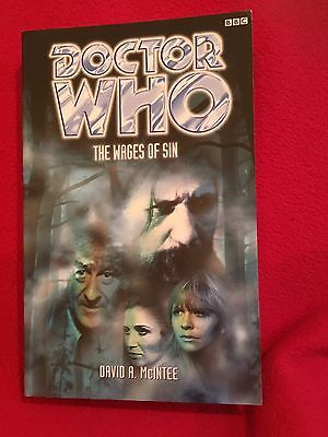 Doctor Who: The Wages of Sin by David A. McIntee (Paperback, 1999)