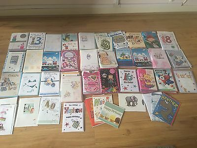 joblot greeting cards X 186