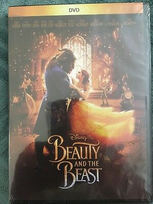 Beauty And The Beast (DVD 2017)  BRAND NEW!!! FREE SHIPPING!!!!