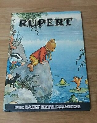 Rupert The Daily Express Annual 1969