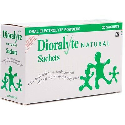 Natural Dioralyte 40 Sachets
