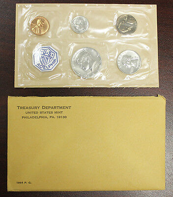 1964 Proof Set (Silver) in Original Mint Envelope (822)