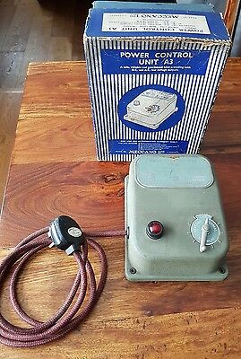 Hornby Dublo A3 Power Control - Transformer & Speed Controller - Boxed Untested