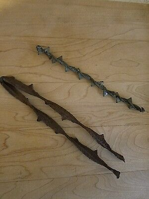 Vintage Pennsylvania Barb Wire/collectables/farm Collectables