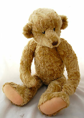 """Artist Teddy Bear XL Mohair Jointed 28"""" Antique Style Barbara McConnell MCB"""