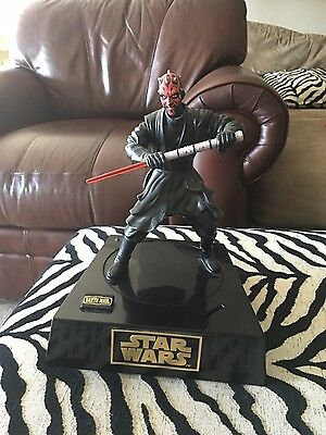 Star Wars Interactive Darth Maul Figure Talking Moving Coin Piggy Bank Money Box