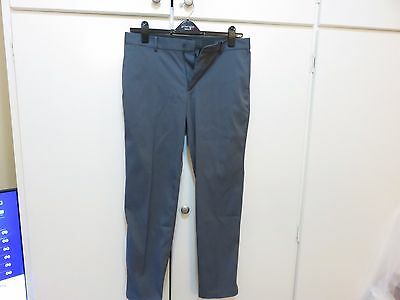 Nike Golf Flat Front Trousers Dark Grey Waist size: 32 Leg length: Short (30)