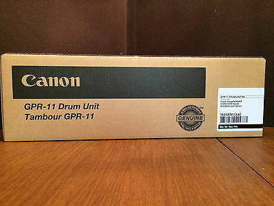 CANON GPR-11 GPR11 DRUM UNIT Black 7625A001AA C3200 C3220 Factory Sealed