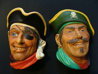 Captain Kidd and Pirate Bosson Legend Heads