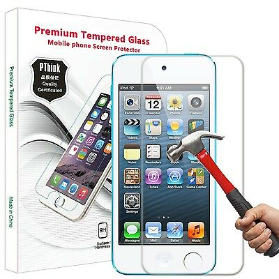 iPod Touch 6 & iPod Touch 5 Screen Protector PThink Tempered Glass Screen Pro...