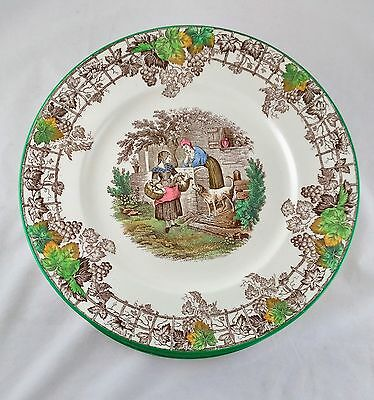 Vintage Copeland Spode's Byron Dinner Plates - Made In England - 13 Available