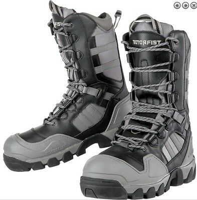 "Motorfist ""carbide"" Snowmobile Boots Event Waterproof Warm - Choose Size"
