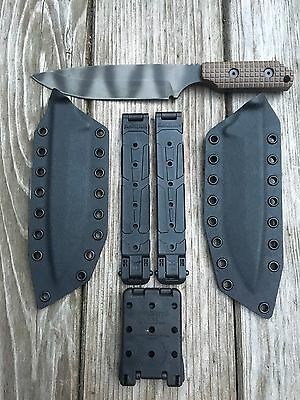 Strider Knives: Model LD With 2 Sheaths,Tec-Loc And Malice Clips