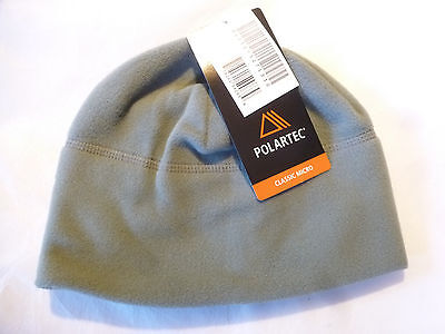 ECWCS POLARTEC FLEECE SKULL Watch Beanie CAP, FOLIAGE GREEN, U.S. Army ACU